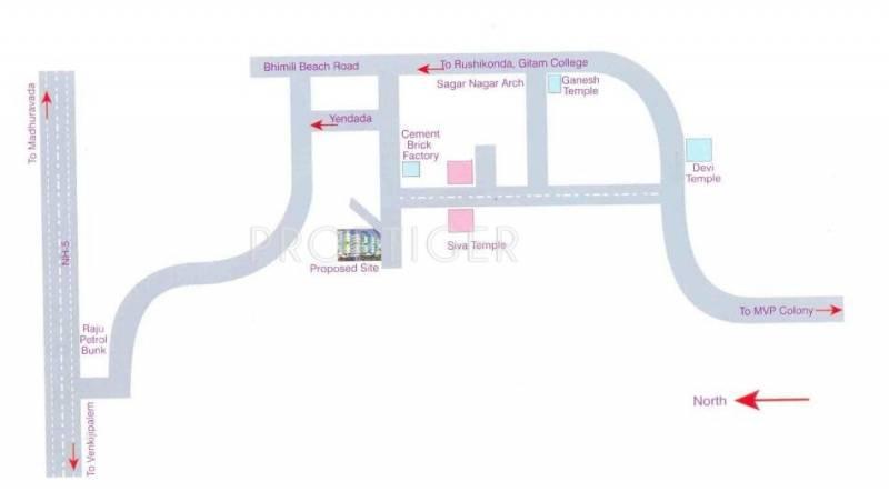 Images for Location Plan of BR Lakshmi Durga Sagar Enclave