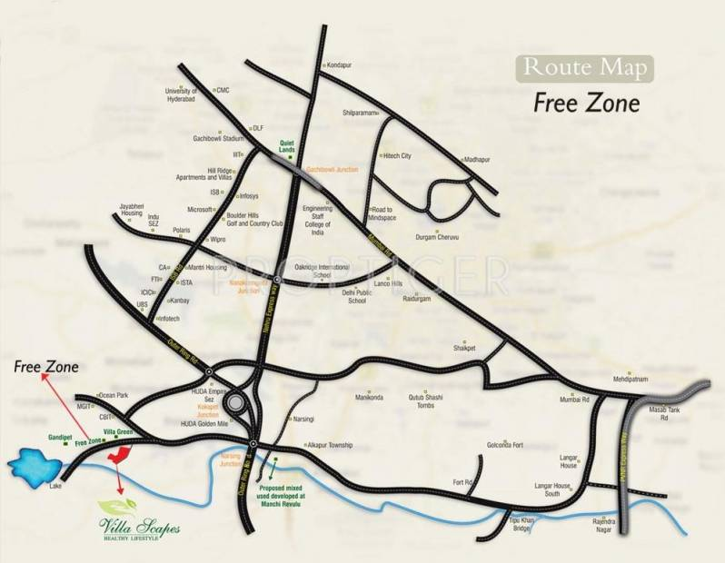 Images for Location Plan of N K Leasing Free Zone