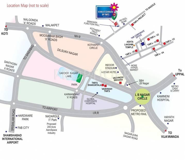 Images for Location Plan of TNR Venkateshwara