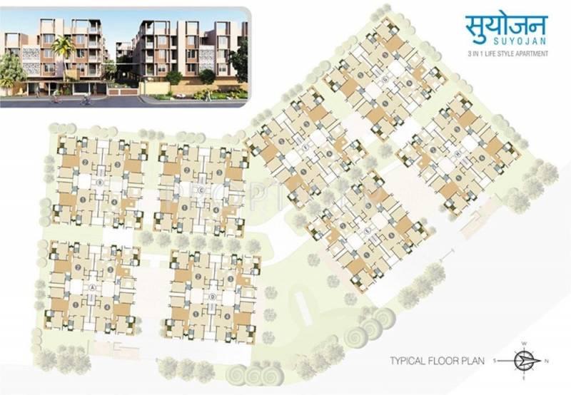 Images for Layout Plan of Ganesh Housing Suyojan