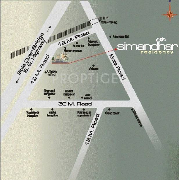 Images for Location Plan of Simandhar Residancy