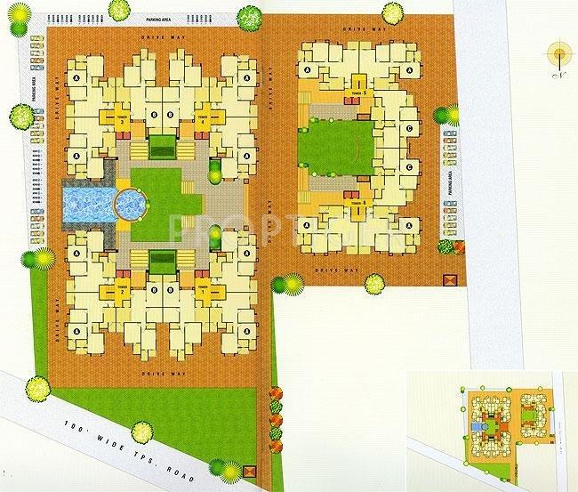 heights Images for Site Plan of Devnandan Devnandan Heights
