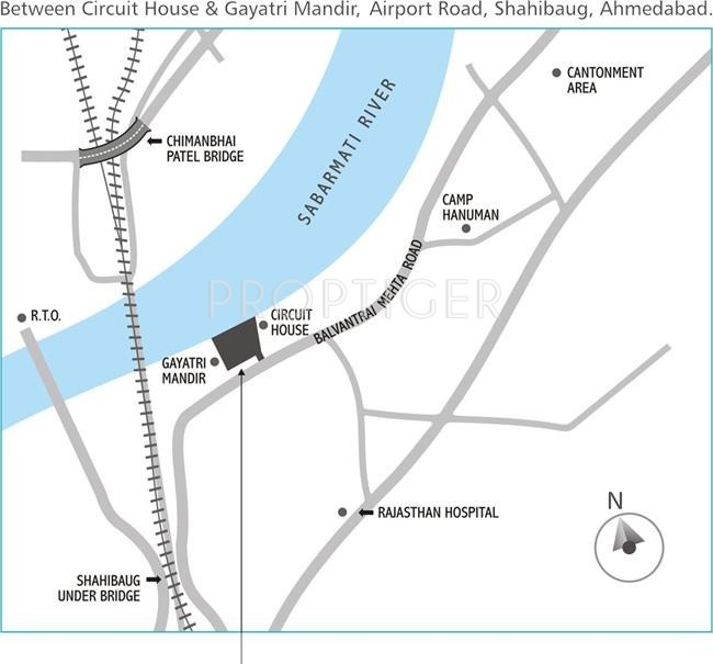 Images for Location Plan of Dharmadev Neelkanth Riverview