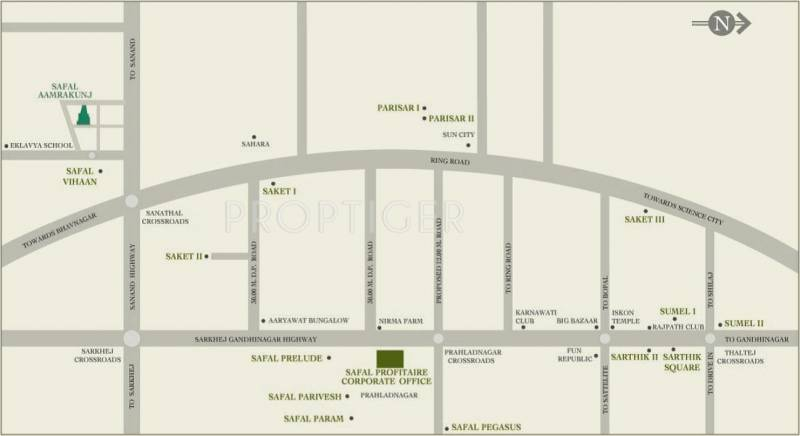 Images for Location Plan of Safal Realty Aamrakunj