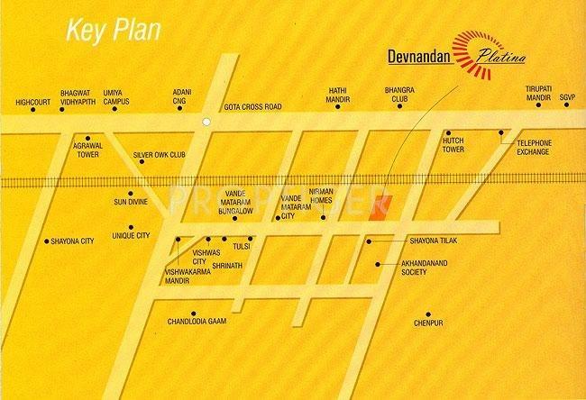 Images for Location Plan of Devnandan Devnandan Platina