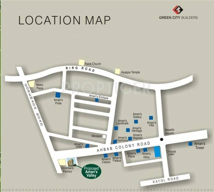 Images for Location Plan of Green AMAN VALLEY