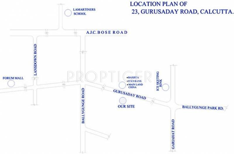 Heritage Realty Group Astral Location Plan