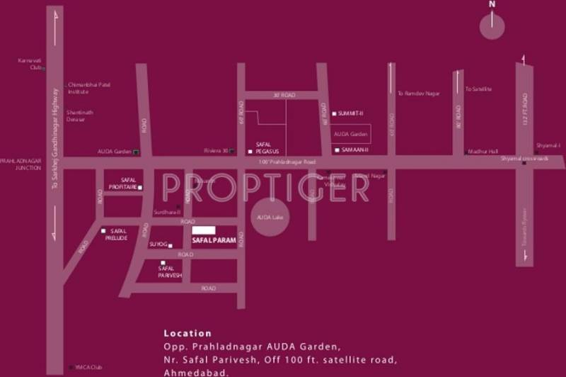 param Images for Location Plan of Safal Realty Param