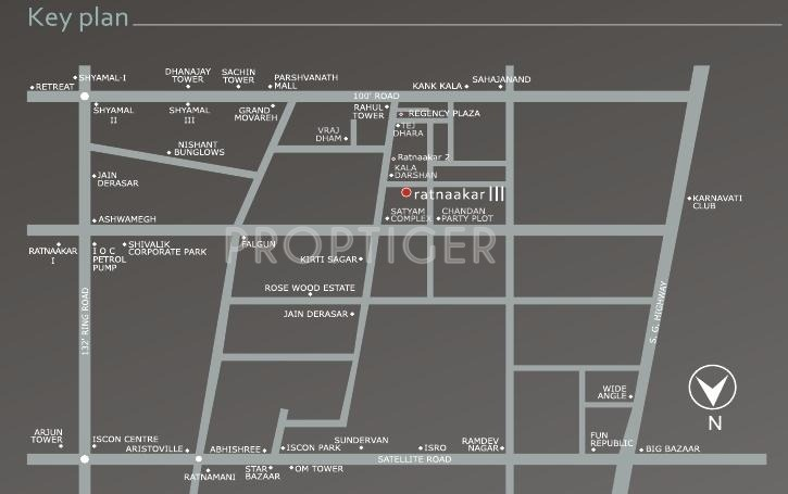 Images for Location Plan of Nishant Construction Ratnaakar III