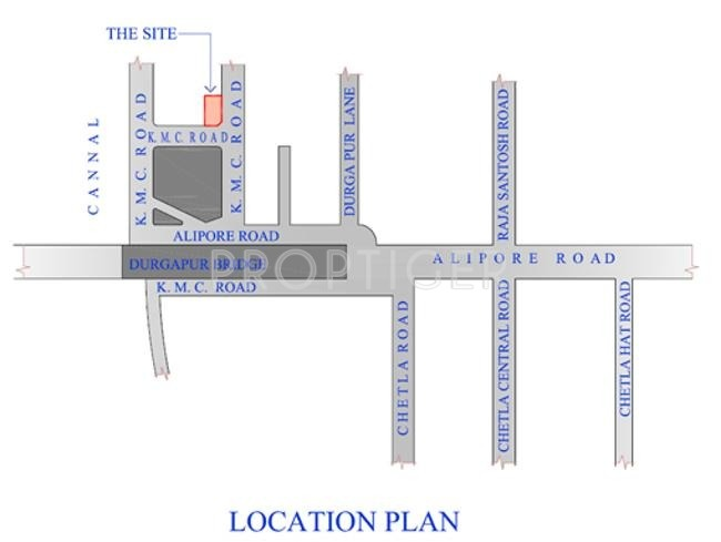 Images for Location Plan of SKDJ Group Alipore Green