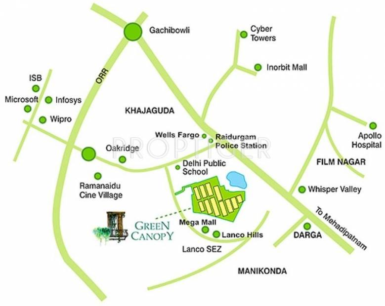 Images for Location Plan of Alekhya Mulberry