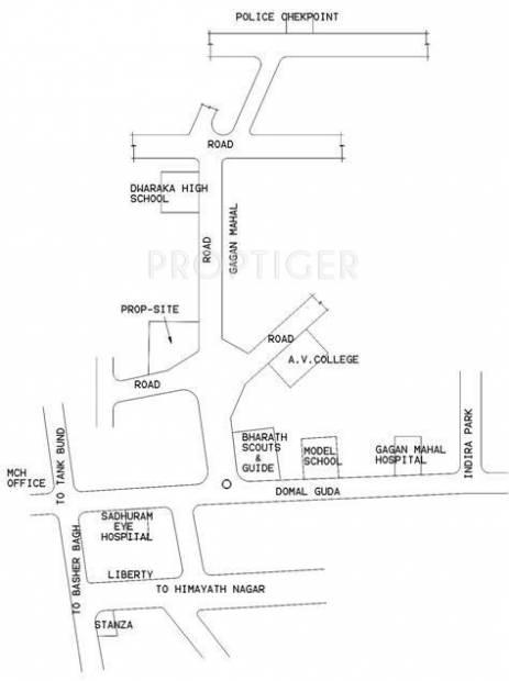 Images for Location Plan of Gharonda Seshamandir