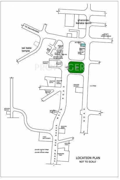 Images for Location Plan of Gharonda Casarosa