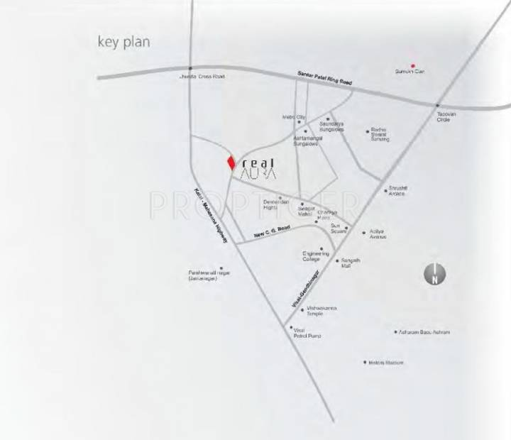 Whistling Group Real Aura Location Plan