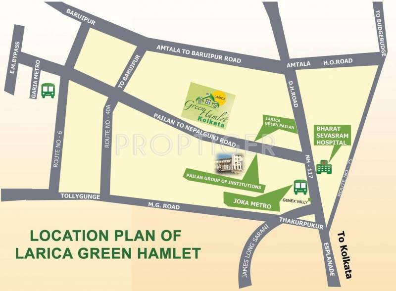Images for Location Plan of Larica Green Hamlet