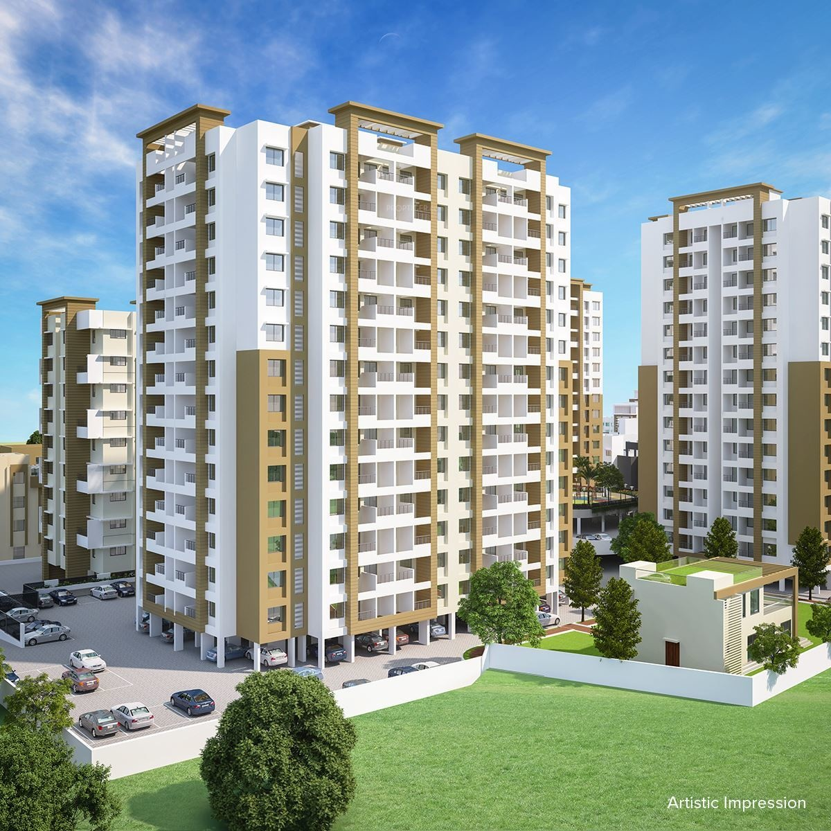713 Sq Ft 3 BHK 3T Apartment For Sale In Chirag Developers