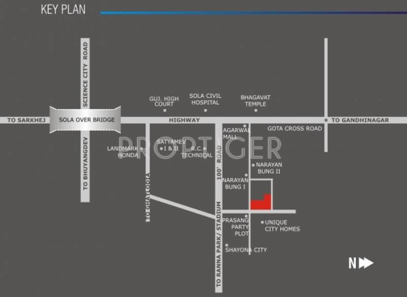 Images for Location Plan of Sun Builders Sun Divine 2