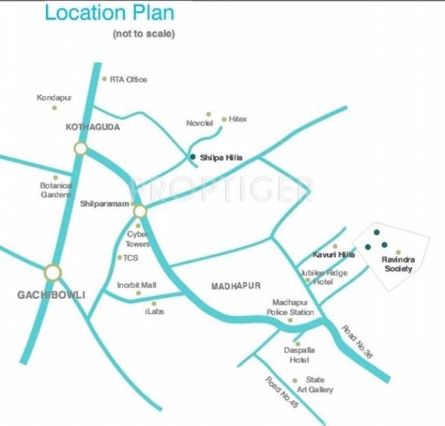 Images for Location Plan of Alekhya Marigold