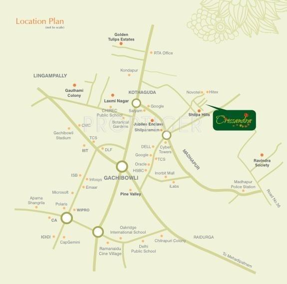 Images for Location Plan of Alekhya Crossandra