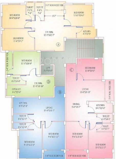 Images for Cluster Plan of Goldwin Ganpati Savera