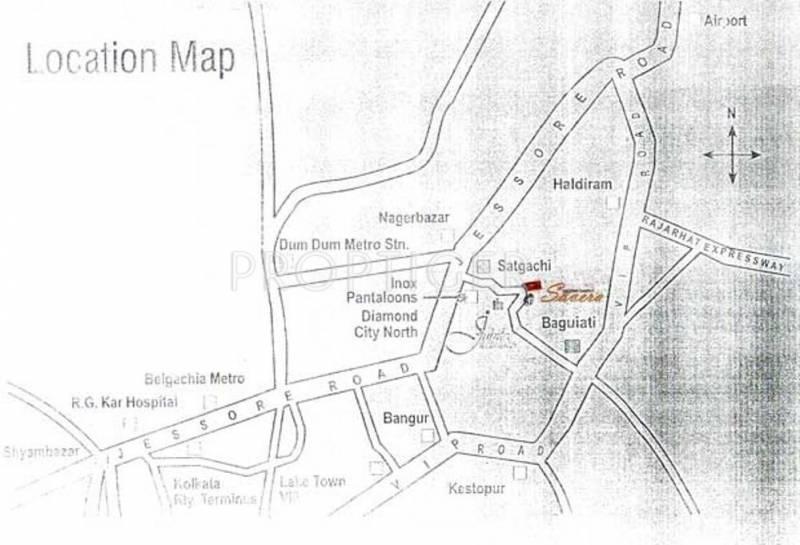 Images for Location Plan of Goldwin Ganpati Savera