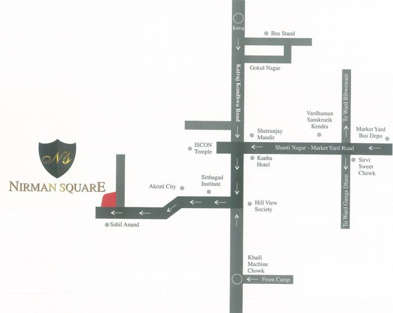 Images for Location Plan of Sungold Nirman Square