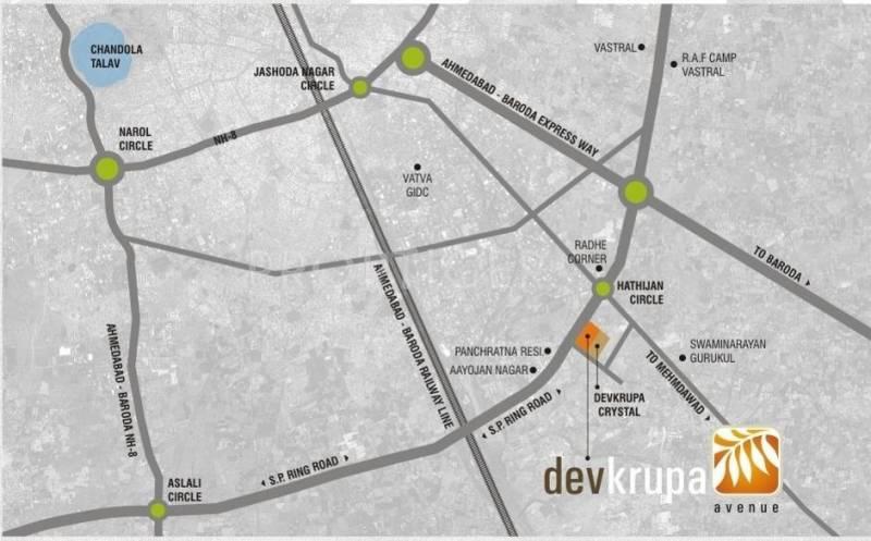 Images for Location Plan of Sahajanand Devkrupa Avenue