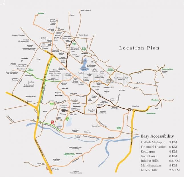 tangrilla Images for Location Plan of Aryamitra Tangrilla
