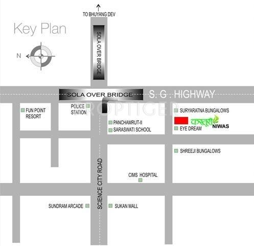 Images for Location Plan of Dhara Group Kasturi Niwas
