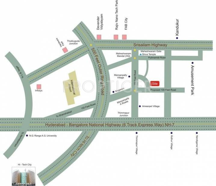 Images for Location Plan of RGP Radha Krishna Enclave