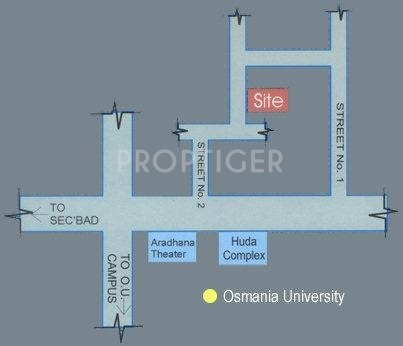 Images for Location Plan of Jubilee Shubha Nilayam