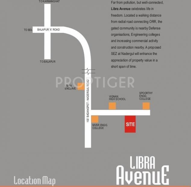 libra-avenue Images for Location Plan of Libra Libra Avenue