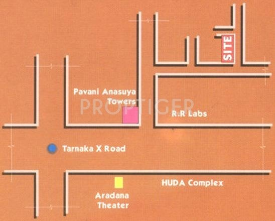 Images for Location Plan of Jubilee Shubha Nivas