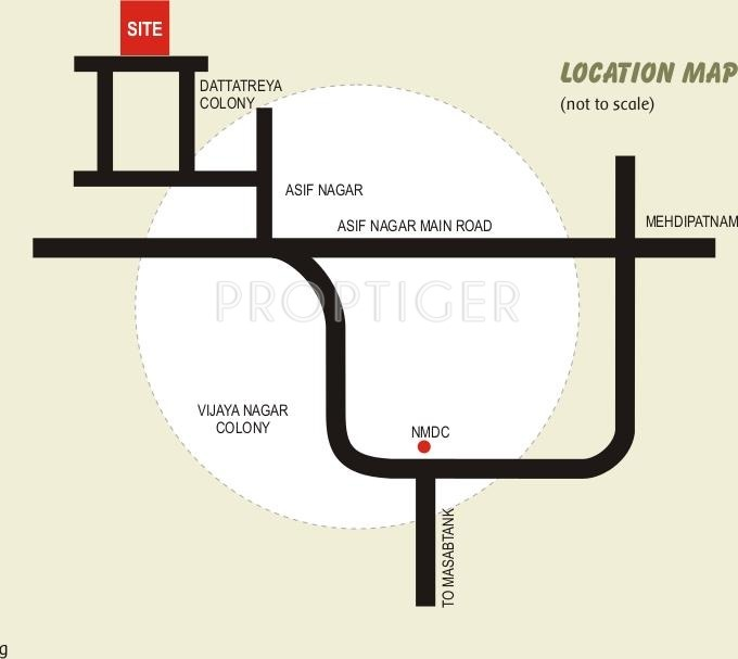 Images for Location Plan of Libra Shelters Libra Residency