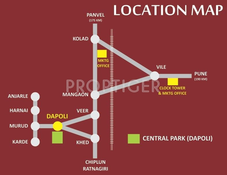 Images for Location Plan of Goka Gold Valley Konkan