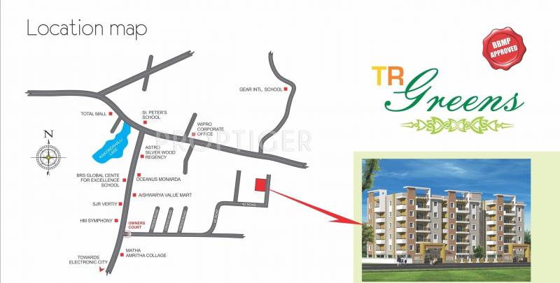 Images for Location Plan of TR Builders and developers TR Greens