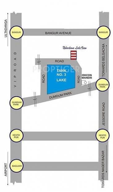 niharkana-lake-view Location Plan