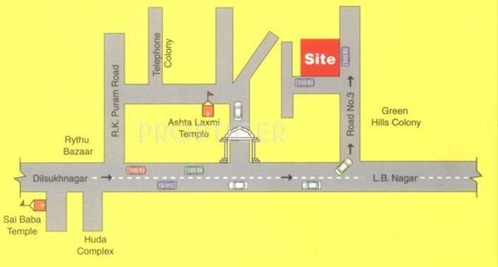Images for Location Plan of Jubilee Shubha Lakshmi