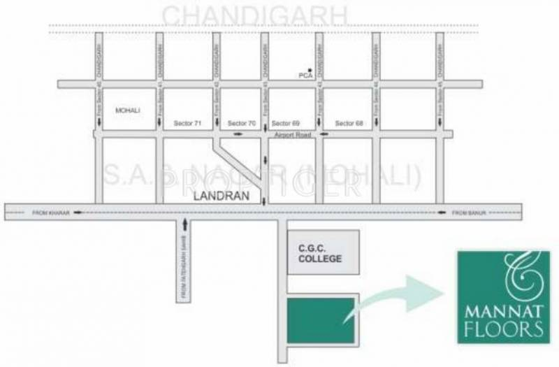 Images for Location Plan of Manohar Mannat Floors