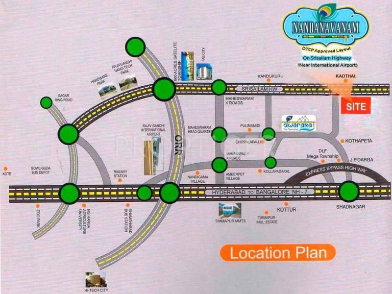 Images for Location Plan of Rishi Nandanavanam