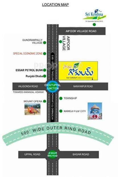 Images for Location Plan of Rishi Sai Gokulam