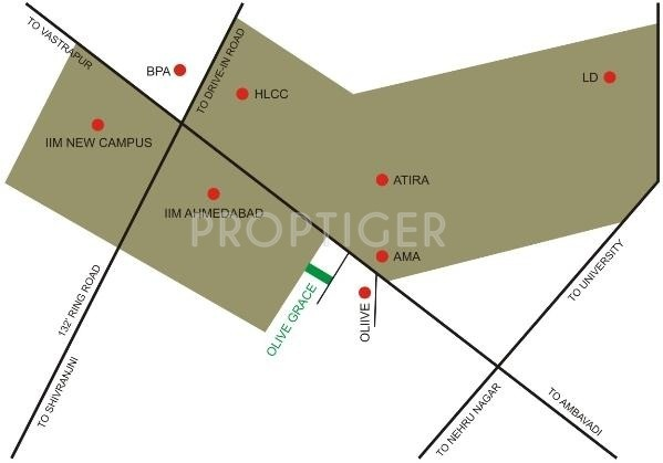 Olive Group Grace Location Plan