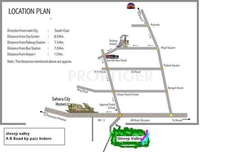 Images for Location Plan of Surya Shreeji Valley