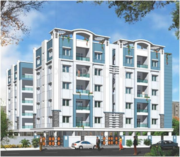 Royal Crest Apartments: 3 BHK 3T Apartment For Sale In Udaya Heights Royal Crest