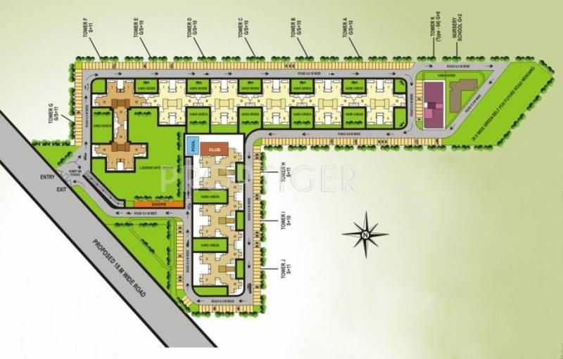 Images for Layout Plan of V Square Springdale