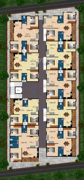 Images for Cluster Plan of Kumari Brundavan