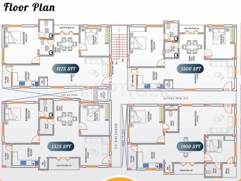 Images for Cluster Plan of Asvasidh Novateur Nest 1