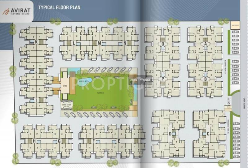Images for Layout Plan of Avirat Silver Habitat