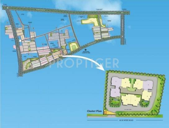 Images for Layout Plan of Dhoot Vistara Emerald