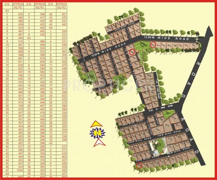 Images for Layout Plan of Shree Gayatri Realty Satyamev Chhavani VII